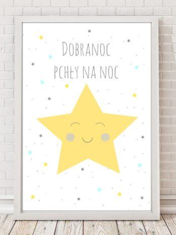 Plakat Gwiazda żółta