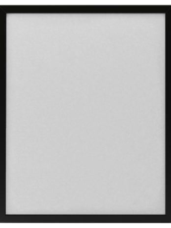 Ramka z plastikową szybką – CZARNA