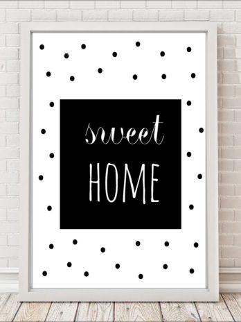 Plakaty Sweet home